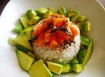 ensalada de arroz y salmon