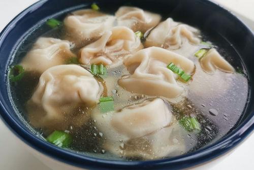 Dumplings en sopa